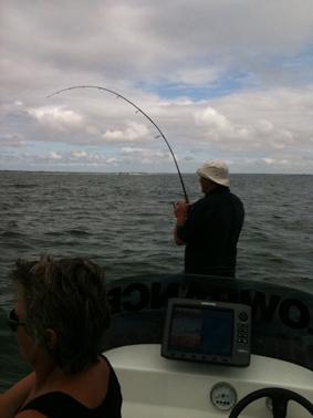 Un 63cm arrive au bateau ok